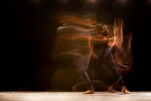 time lapse photography of man dancing